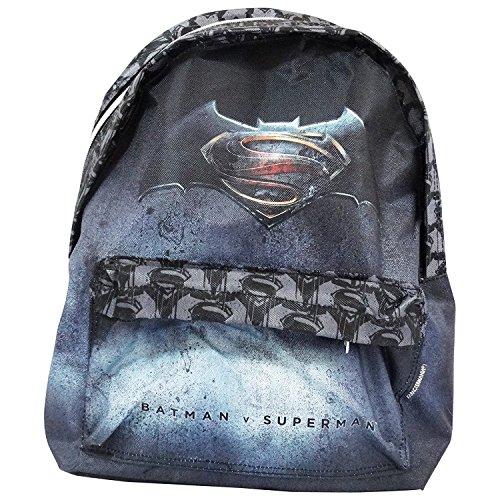 Dc Comics Batman vs Superman Justice Backpack Daypack Freetime Travel Bag - Rucksack Justice