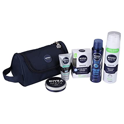 b36bd5b634fd Nivea Men Grooming Kit with Free Kit Bag  Amazon.in  Beauty