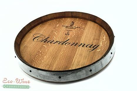 Amazon.com: Barril de vino Lazy Susan Chardonnay 2: Kitchen ...