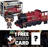 Harry Potter & Hogwarts Express Carriage: Funko POP! Rides x Harry Potter Vinyl Figure + 1 FREE Official Harry Potter Trading Card Bundle (059729)