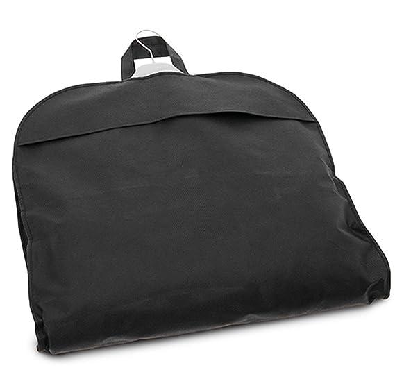Funda para Traje. Útil Accesorio de Viaje. Portatrajes con Cremallera en Color Negro.: Amazon.es: Equipaje