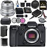 Fujifilm X-H1 Mirrorless Digital Camera (Body Only) 16568731 XF 23mm f/2 R WR Lens (Silver) 16523171 Bundle