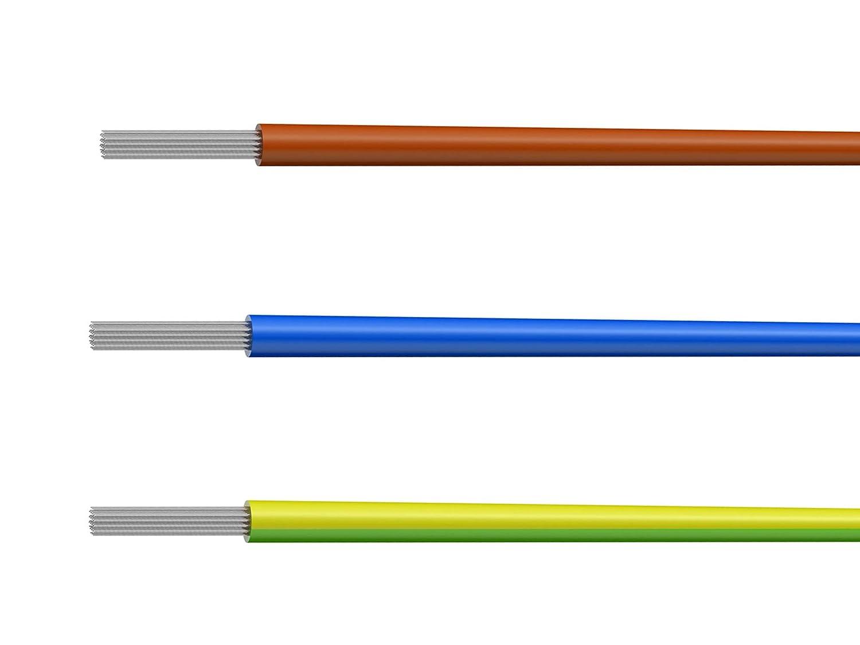 NorthPada 16 AWG 1,0mm/² Kit de Fil /électrique torons Fils de silicone Fil /étam/é C/âble Cable de cuivre 2 Couleur + 200 /° C 2 x 3 M/ètres Noir+Rouge 600V 12A -60 /° C