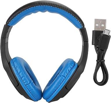 Simlug Bluetooth Auriculares de reducción de Ruido, Ruidos Activos Cancelación de Auriculares de Cabeza de Graves montados en la Cabeza Tiempo de reproducción Largo Viaje Trabajo TV PC Celular: Amazon.es: Electrónica