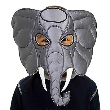 Máscara de elefante infantil (3-8 años) Slimy Toad