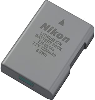 Nikon EN EL14A Rechargeable Li Ion Battery for D5300 and Df Cameras