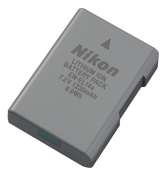 Nikon EN EL14A Rechargeable Li Ion Battery for D5300 and Df Cameras Camera Batteries