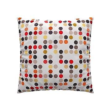 Soferia   IKEA 55 x 55 Housse de coussin, City Blanc: Amazon.fr
