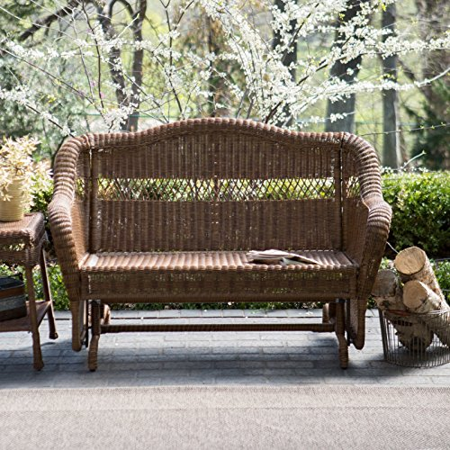 Amazon.com : Coral Coast Casco Bay Resin Wicker Outdoor Glider Loveseat : Patio  Gliders : Patio, Lawn & Garden - Amazon.com : Coral Coast Casco Bay Resin Wicker Outdoor Glider