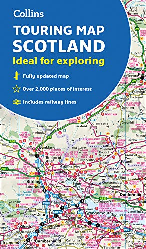 Scotland Touring Map: Ideal for exploring...