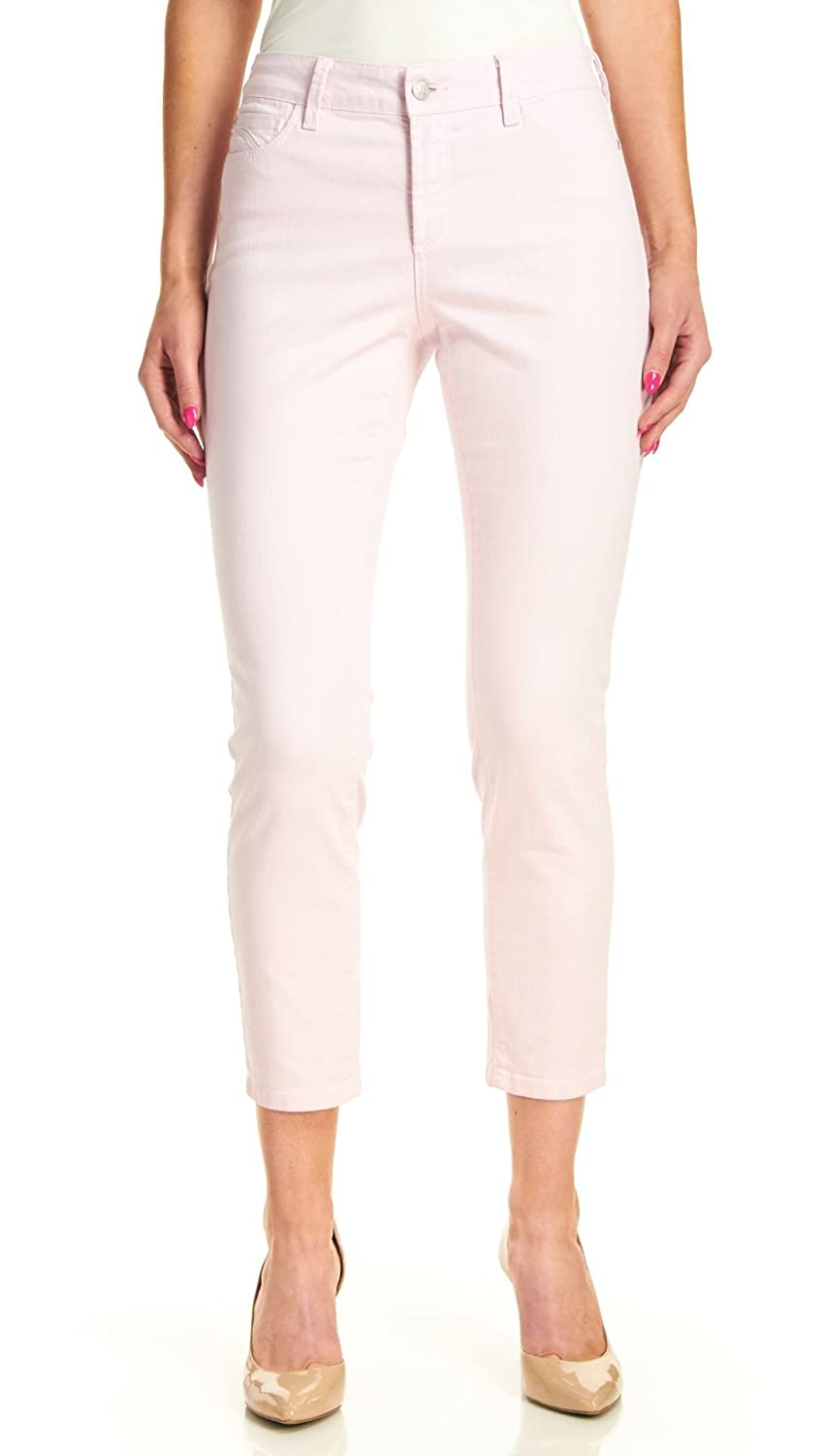 NYDJ Clarissa Skinny Ankle Jeans, Posey Pink, 2
