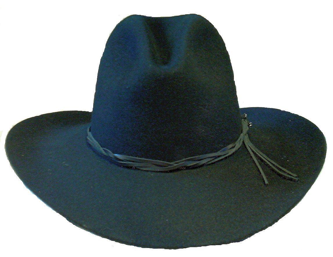 43b5acf42b0 Stetson Gus Black Hat Beaver Fur at Amazon Men's Clothing store:
