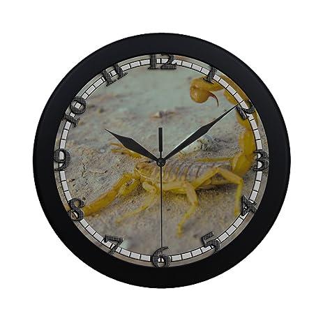 Amazon.com: desert scorpion USWCANM471 New Wall Clock Decorative ...