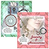 Macramé Basics Jewelry & Accessories and Dream Catcher DIY Craft Books - Available in 1 or 2 Packs