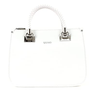 Liu Jo Anna Shopping bag Medium squared Lily White  Amazon.co.uk ... 7a805cb27be