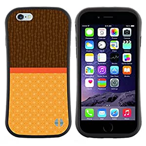 "Hypernova Slim Fit Dual Barniz Protector Caso Case Funda Para Apple (5.5 inches!!!) iPhone 6 Plus / 6S Plus ( 5.5 ) [Dos Tonos Marrón Beige""]"