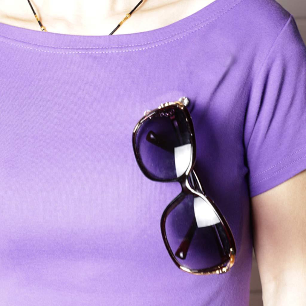 perfeclan 2 St/ück Brillenhalter magnetisch Brille Magnethalter Kopfh/örer Halter Stiftehalter