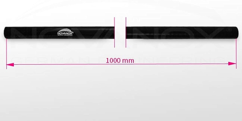 1 Meter Silikonschlauch /Ø 19 mm SchwarzHitzebest/ändig Turbo flexibel Universal Verbinder