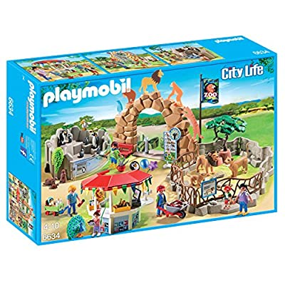 PLAYMOBIL Large City Zoo: Toys & Games