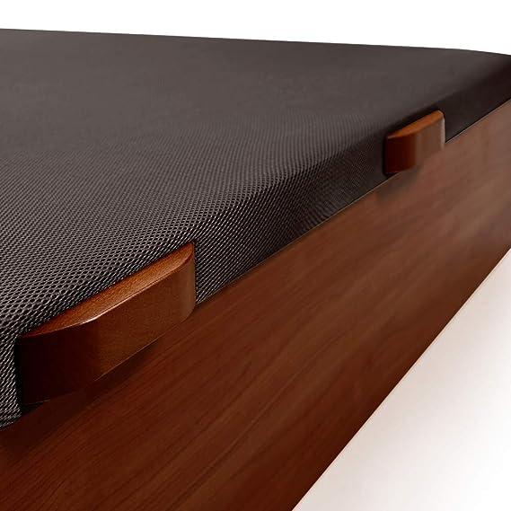 Komfortland Canapé abatible Wood Medida 105x180 cm Color Wengué (Montaje Incluido): Amazon.es: Hogar
