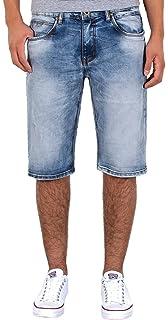 c162a03b25e3 by-tex Herren Jeans Shorts Herren kurze Hosen Herren kurze Jeans Hose  Bermuda Shorts Sommer