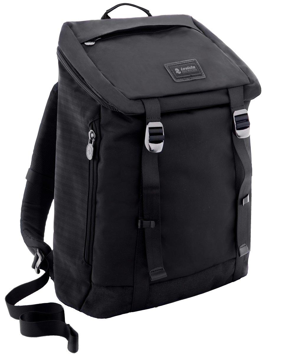 バックパックInvicta – ユーティリティメモリM – ブラック – 21 LT – 内側ポケットfor PCとタブレット   B01MUMC203