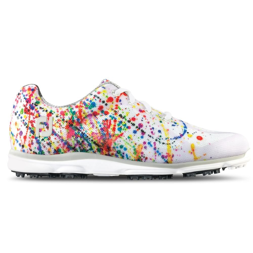 FootJoy Empower Spikeless Golf Shoes Closeout Women B01I5PN4KY 7 B(M) US|Paint Splatter