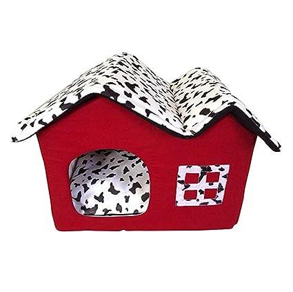 Amazon.com: ZPEM - Casetas plegables para perros, cunas ...