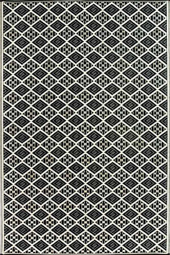Cheap  Mad Mats Scotch Indoor/Outdoor Floor Mat, 6 by 9-Feet, Black and White