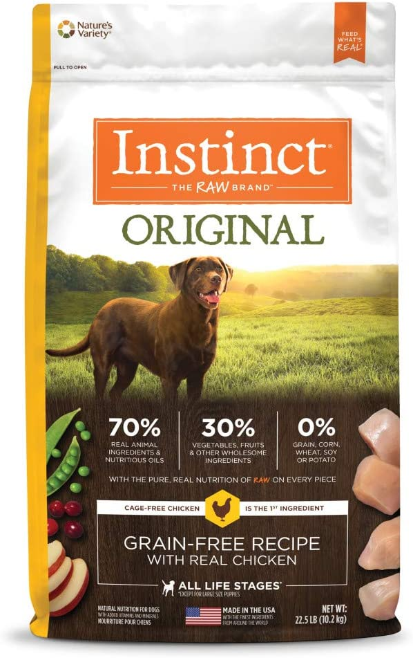 9. Instinct Original Grain-Free Recipe Dry Dog Food