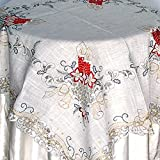 Christmas Holiday Decorative Table Linen Topper Set
