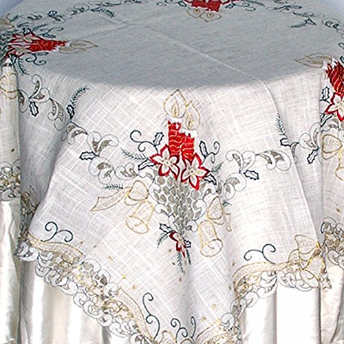 Christmas Holiday Decorative Table Linen Topper Set by Vani Gifts