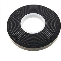RIKAMA 8 m compressieband acryl 300 | 10/4 | breedte 10 mm | antraciet | bronband | compriband | raamafdichting…