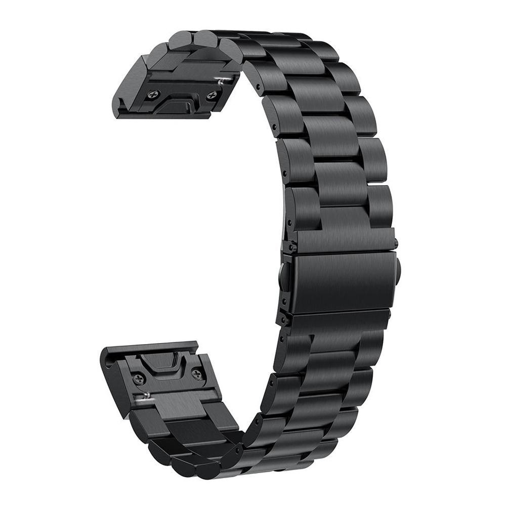 Yooside Fenix 5S Quick Fit Watch Band, Quick Fit 20mmStainless Steel Metal Replacement Watch Band Strap for Garmin Fenix 5S/5S Plus,Fit Wrist 5.5-8.7inch(NOT for Fenix 5X/5)