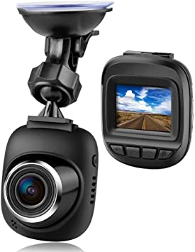 AZZ Pantalla LCD para el automóvil DVR, cámara Delantera y Trasera para Autos, Gran Angular de 170 °, grabación en Bucle, Sensor G, detección de Movimiento, Monitor de estacionamiento: Amazon.es: Electrónica