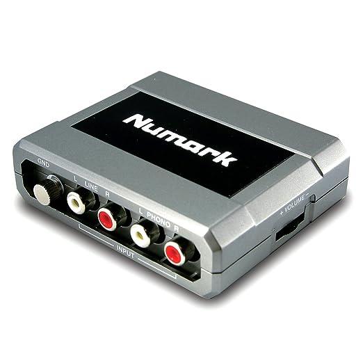 2 opinioni per Numark STEREO iO Scheda Audio USB per Consolle DJ e Mixer, Trasforma il Segnale