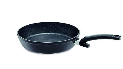 Fissler adamantita Comfort antiadherente Sartén, aluminio, color negro, aluminio, Negro, 28