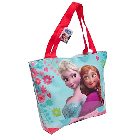 Amazon.com : DISNEY|FROZEN Bolsa playa Frozen Disney nevera ...