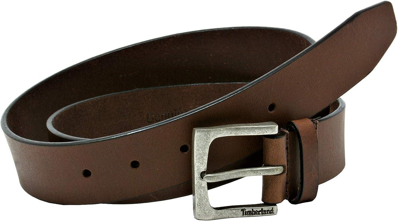 Timberland Mens Classic Jean Belt Brown 48