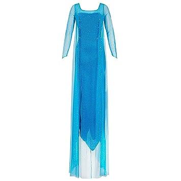 Katara 1768 Damen Kostum Prinzessin Elsa Kleid Frozen