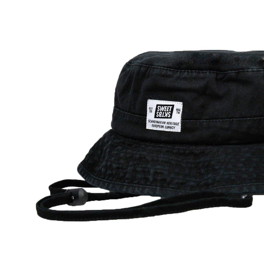 f1b20c629d5cd1 SWEET SKTBS Herren Fischerhut Schwarz schwarz One size: Amazon.de:  Bekleidung
