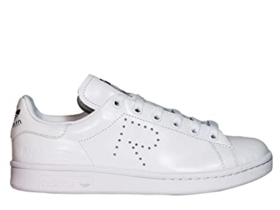 adidas RAF Simons Damen S81167 Weiss Leder Sneakers: Amazon.de ...