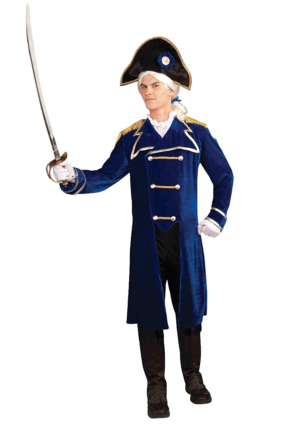 Forum Novelties Men's Patriotic Party Deluxe Admiral Costume