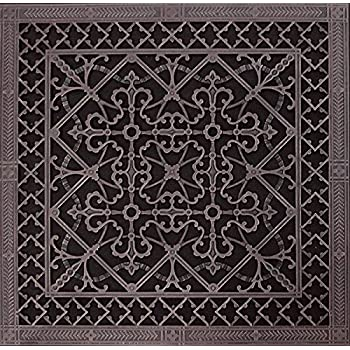 Decorative Grille, Vent Cover, or Return Register  Made of Urethane Resin  to fit over a 10
