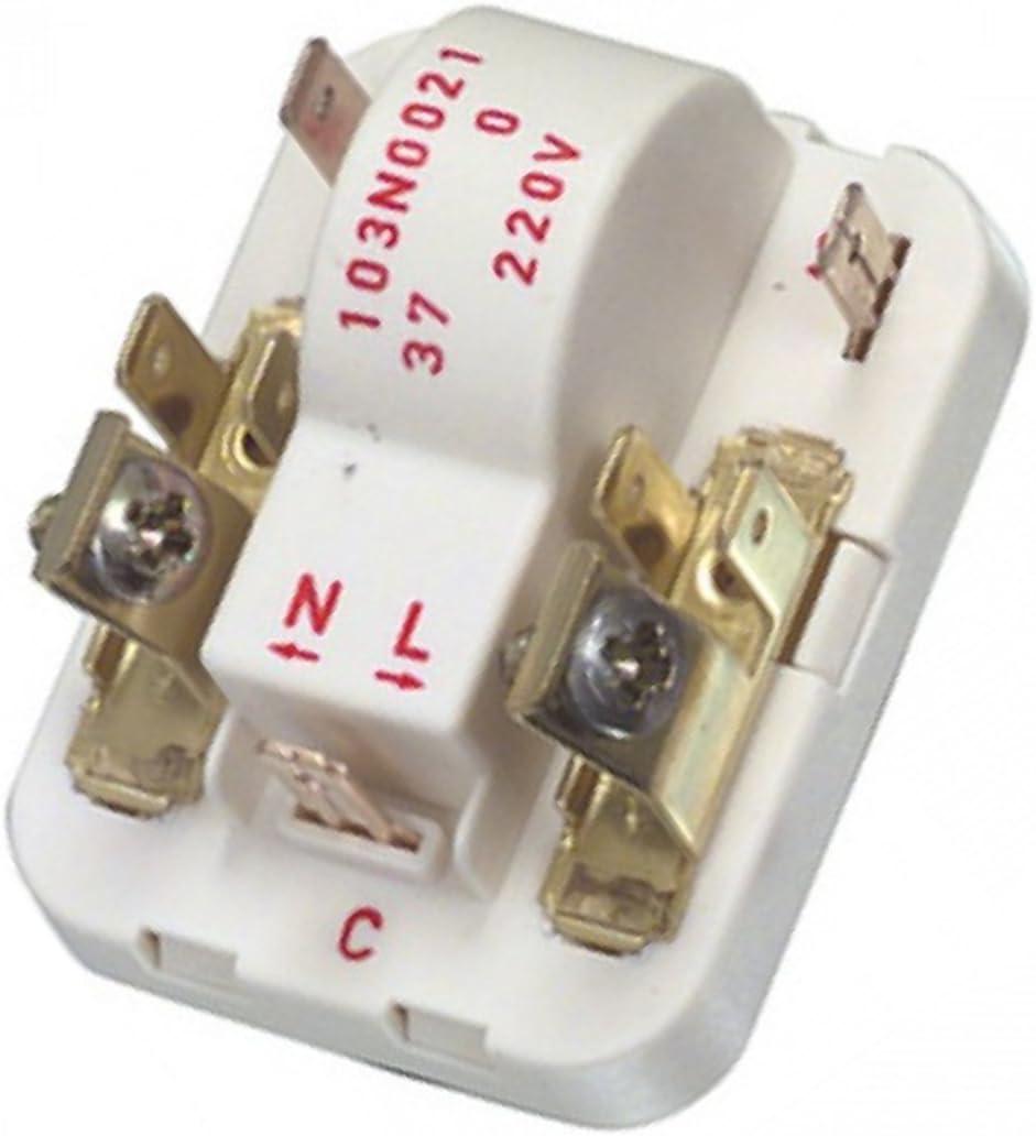 Electrolux Fridge Freezer Genuine Danfoss Start Relay Compressor 103N0021:  Amazon.co.uk: Kitchen & Home