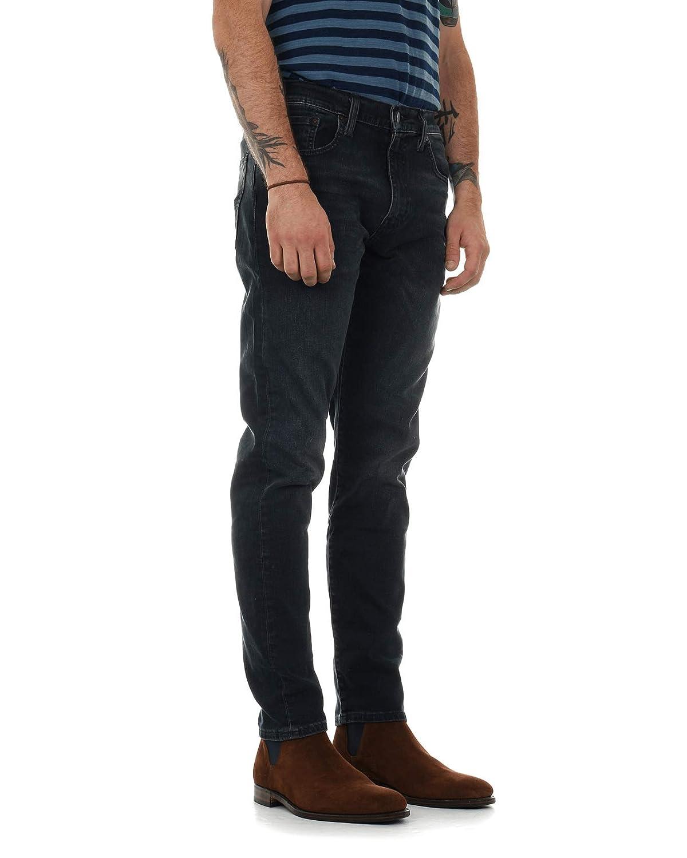 TALLA 38W x 32L. Levi's Hombre 512 Steinway Slim Fit Tapered Jeans, Azul