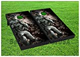VINYL WRAPS Cornhole Boards DECALS Army Soldier Camo Bag Toss Game Stickers 227