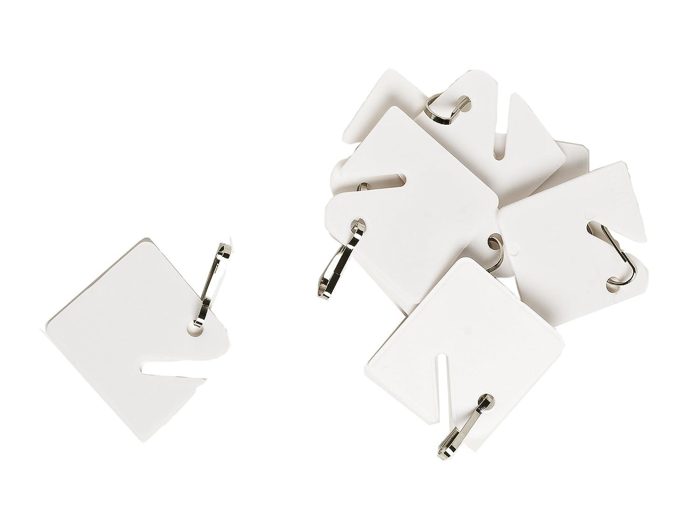 Pack Of 20 Brady 99023 Blank Key Tags
