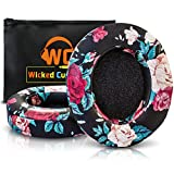 Upgraded Beats Replacement Ear Pads by Wicked Cushions - Compatible with Studio 2.0 Wired/Wireless and Studio 3 Over Ear Headphones by Dr. Dre ONLY (Does NOT FIT Solo) - (Black Floral)
