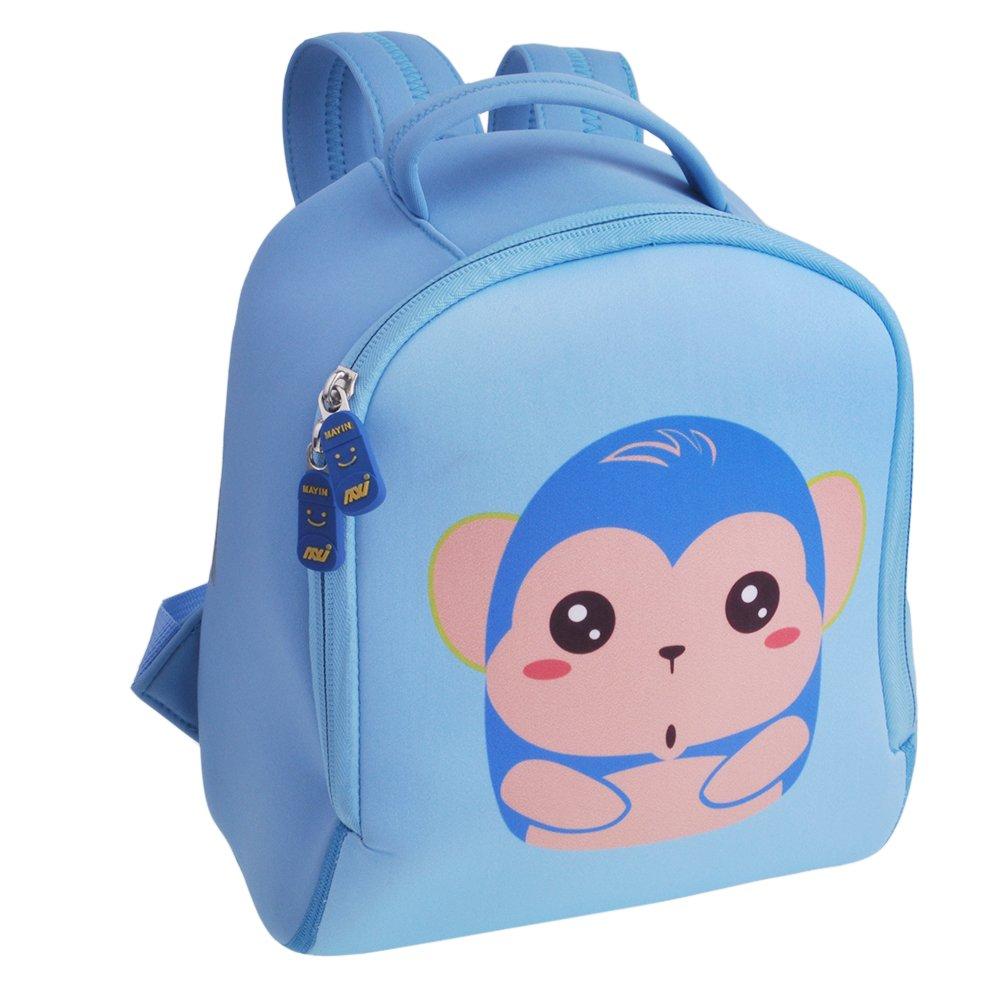 Kids Backpack F40C4TMP Kindergarten Preschool Neoprene Shoulder Nursery Bag Cartoon Elephant JTBP012CA-F4